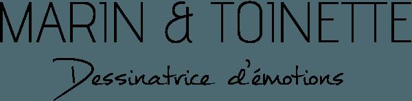 Marin et Toinette - Logo