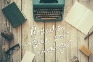 Texte faire part mariage