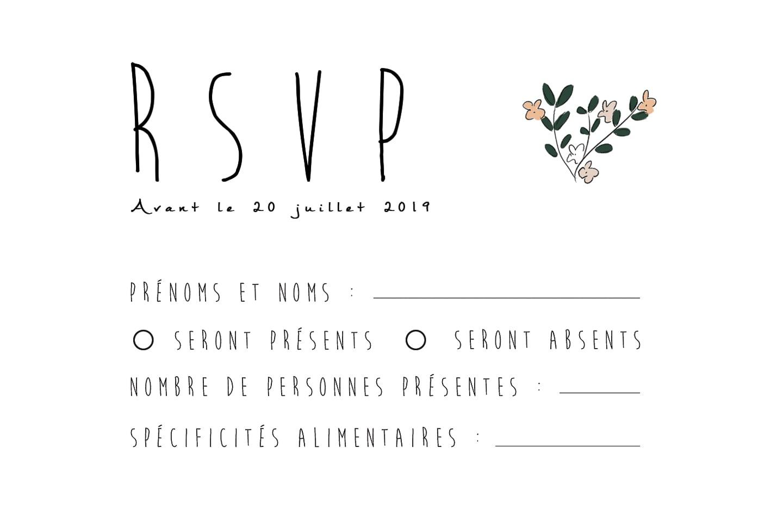 RSVP | Format mini
